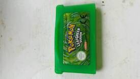 Pokémon leaf green