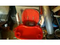 Baby finding chair