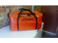 avon four person life raft