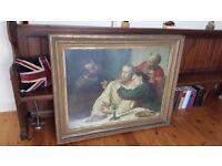 antique religious painting