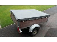 camping trailer 3.5ft x 4.5 ft plus lots of camping accessories