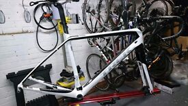 Frameset - Trek Madone Project One 54cm handmade in USA carbon Six Series UCI approved