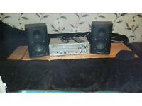 Speakers/Sereo Amplifier