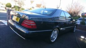 Mercedes CL420 Coupe, 1998, FSH, 3 owners, Mot until March 2019, Excellent Conditon & Looked after.