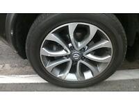 nissan juke 17 inch new alloy 215 55 17 tyre