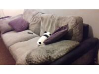 Large two-seater sofa, soft cushions