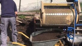 SCHEPPACH RS350 AUTOMATIC ROTARY SOIL SIEVE SIFT SCREEN £35 FOR WEEKLY HIRE SW LONDON KT2