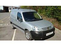 Pengeot Partner Van, 2004,metal silver, 2 owners from new.