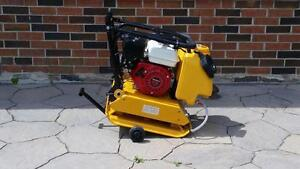 HONDA PLATE TAMPER COMPACTOR FORWARD REVERSIBLE AND DIESEL AVAILABLE + 1 YEAR WARRANTY + FREE SHIPPING B.C. WIDE !!!!!!!