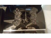 60gb ps3 for sale + headset + 2 controllers + games