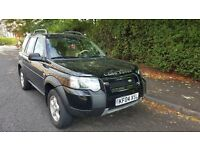 Left hand drive Freelander sports in London with only 60,000 miles