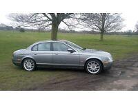 Immaculate Jaguar S Type Sport Long MOT / FSH