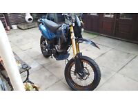 Super moto pulse adrenaline 125cc (upgraded)