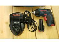 Bosch cordless screwdriver
