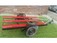 3 Motorbike or quad or DIY trailer
