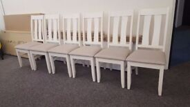 Ex-Display 6 Julian Bowen Pembroke Dining Chairs **CAN DELIVER**