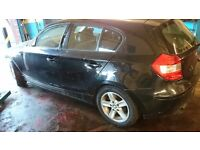 BMW 1 SERIES 116i BREAKING FOR SPARES