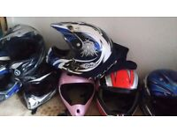 Motorbike Helmets Adult and Child