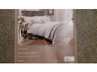 Dunelm mill diamante bed throw 265cm x 265cm with matching cushim2
