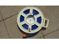 Hose reel 'Food Quality' with end clip, in storage case