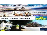 Gorgeous En-suites Room available Bournemouth - Boscombe NO DEPOSIT ** £120 PER WEEK**