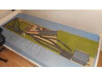 OO gauge Model Railway Layout 6ft x18in Shunting puzzle