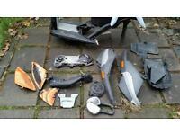 Piaggio nrg 50cc 70cc frame v5 plastics seat spares