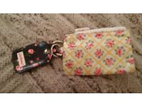 Cath Kidston small purse and keyring.