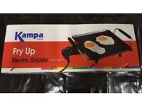 Brand New Kampa Electric Fry Up for use with Caravans, Motorhomes, Camping or Home Use