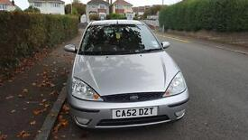Silver 1.6 Ford Focus automatic