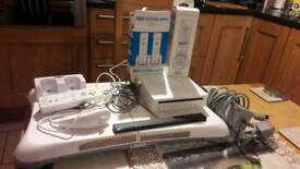 Wii and wii fit and controllers. Games can be included or separate.