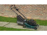 Hayter 41 self propelled roller mower