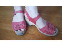Clogs sandals Lotta from Stockholm/Torpatoffeln, size 7/size 41