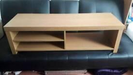 Argos Charlie oak effect TV unit, stand, cabinet