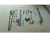 Job lot of necklaces (30 in total)
