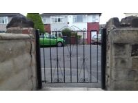 Solid Steel Garden Gate in a very good condition.