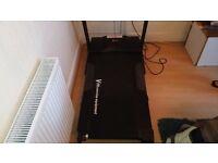 V fit running machine /treadmill