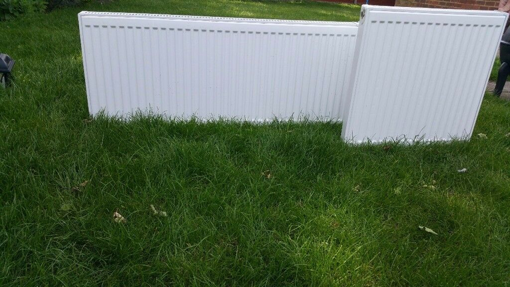 1 white radiator