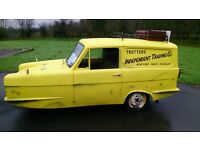 ONLY FOOLS AND HORSES VAN HIRE..WE HAVE A REPLICA YELLOW RELIANT REGAL SUPERVAN 111 PRICES FROM £125