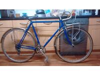 Reynolds 531 Racer bike with Brooks seat