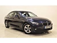BMW 3 SERIES 2.0 320D EFFICIENTDYNAMICS 4d 161 BHP + 1 OWNER FROM NEW (blue) 2013