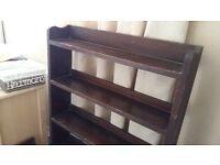 Vintage Bookcase Bookshelf Shelving Unit