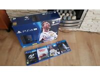 Ps4 pro 1 tb and 4 top games No offers please