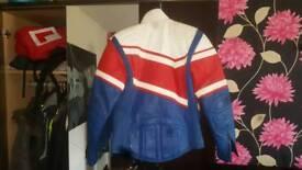 Scott leather moto jacket