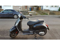 Piaggio Vespa GTS 125 SuperSport 2012,4000mileage