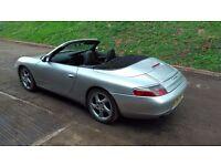 Porsche 996 911 convertible, Approx 96000 miles, excellent condition, recently serviced