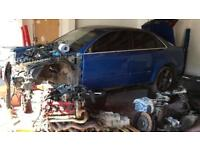 AUDI RS4 S4 B7 SALOON SPRINT BLUE 4.2 V8 BREAKING SALVAGE PARTS