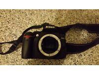 Nikon digital d3000 camera
