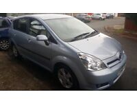 Toyota Verso 2005 automatic, family car