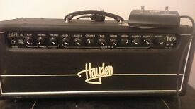 Hayden HGT-A40 Head with 4x12 Speaker Cabinet and FS2-Footswitch